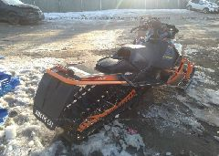 2014 ARCTIC CAT SNOWMOBILE - 4UF14SNW0ET113432 rear view
