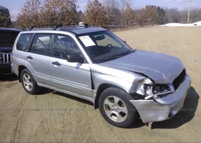 Inventory #351822447 2004 Subaru FORESTER