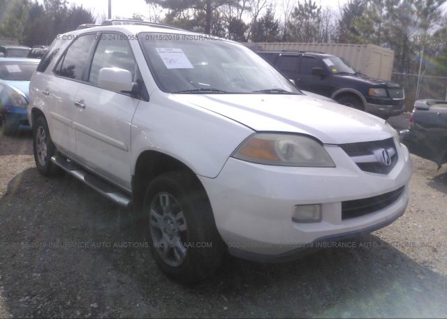2HNYD18666H500443 Clear White Acura Mdx At MEMPHIS TN On Online