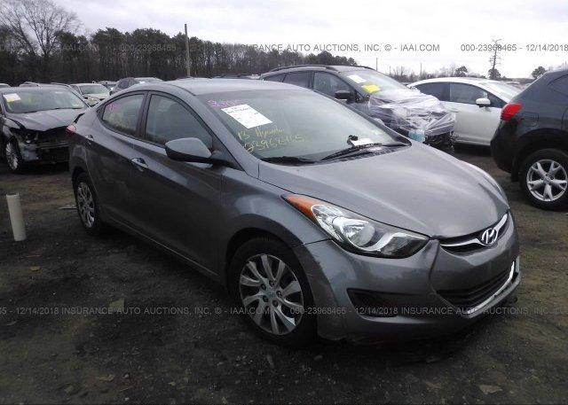 Inventory #997953299 2013 Hyundai ELANTRA