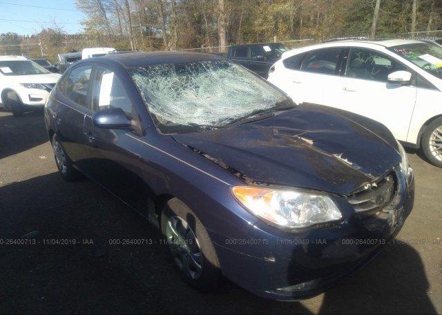 Inventory #725015509 2010 Hyundai ELANTRA