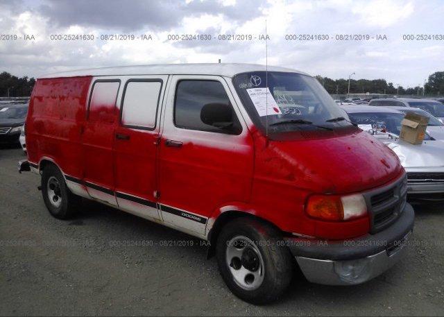 Inventory #692317003 2003 Dodge RAM VAN