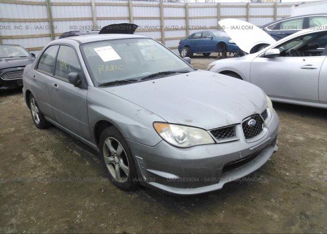 Inventory #890049240 2007 Subaru IMPREZA