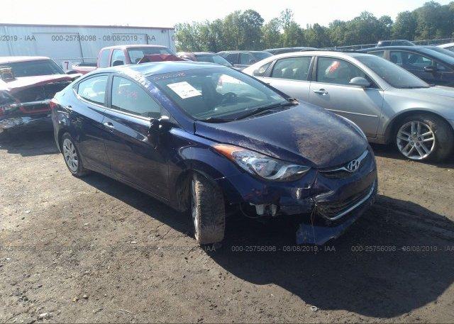 Inventory #853736102 2013 Hyundai ELANTRA