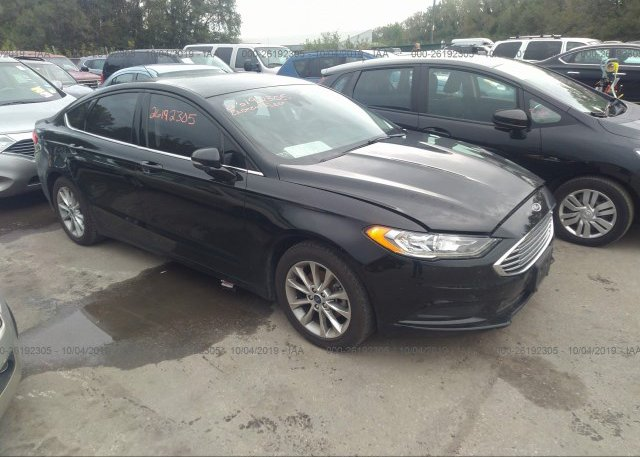 Inventory #644937610 2017 FORD FUSION