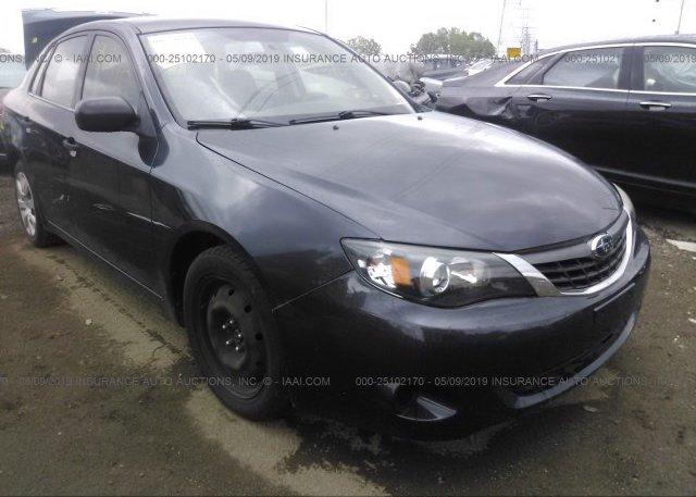 Inventory #693637532 2008 Subaru IMPREZA