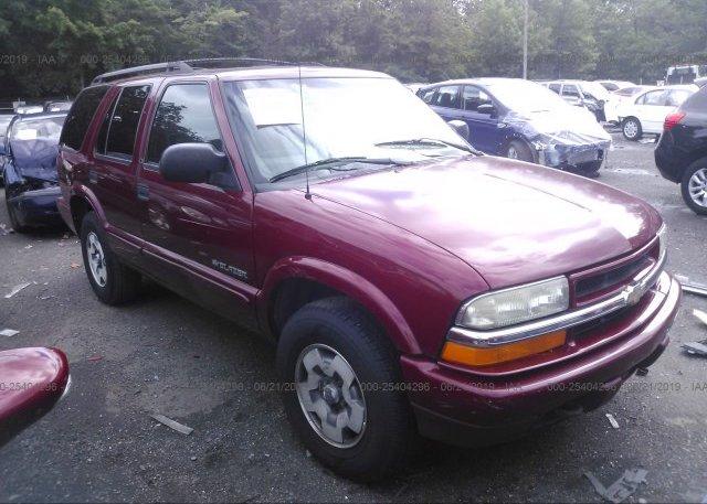 Inventory #779871791 2002 Chevrolet BLAZER