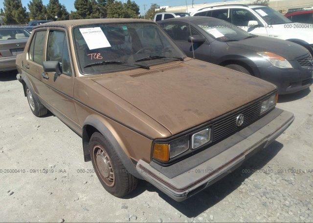 Inventory #356477753 1982 VOLKSWAGEN JETTA