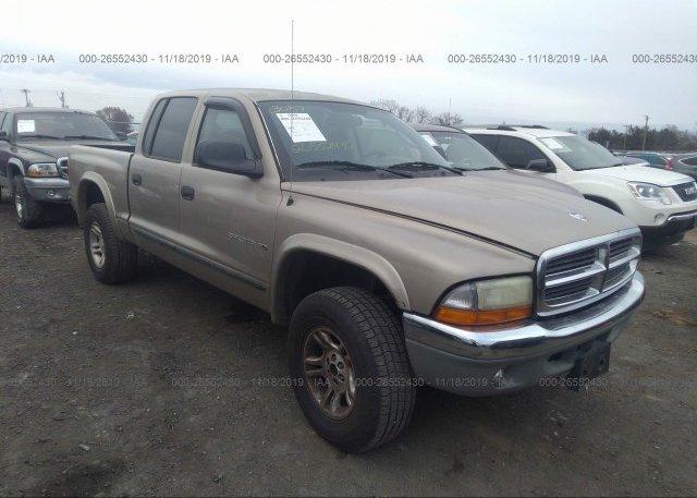 Inventory #328475006 2002 Dodge DAKOTA