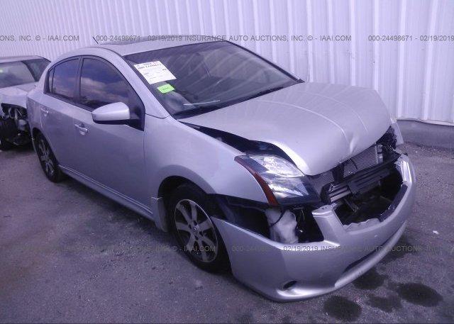 Inventory #216081533 2012 Nissan SENTRA