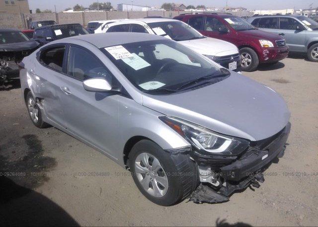 Inventory #426678223 2016 Hyundai ELANTRA