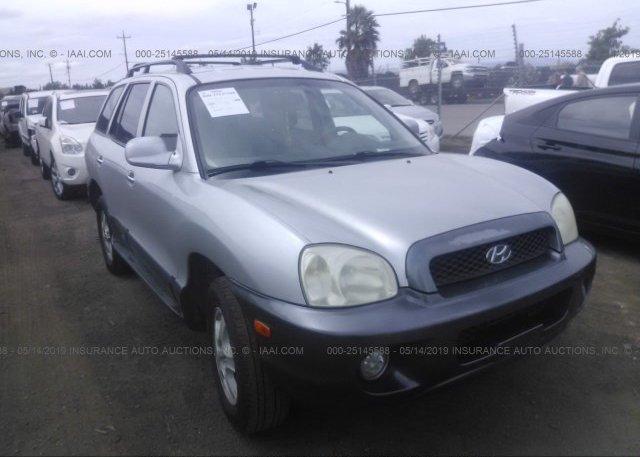 Inventory #623210643 2003 Hyundai SANTA FE