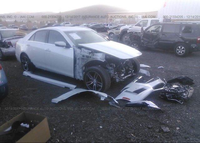 Bidding Ended On 1g6ay5ss0j0125576 Salvage Cadillac Cts At