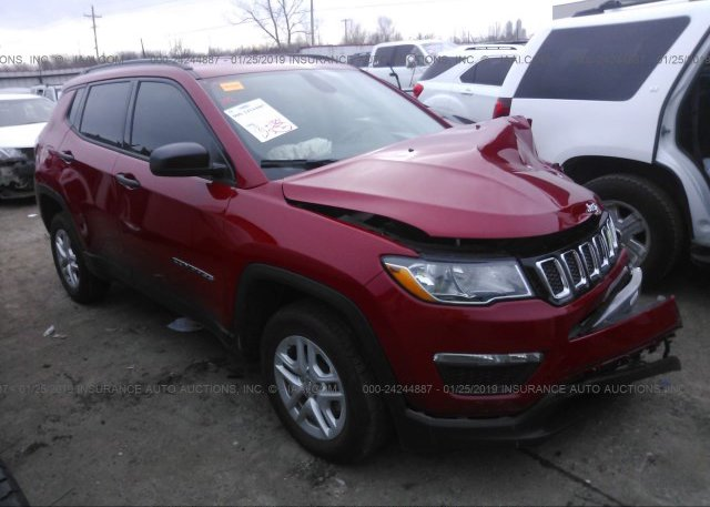 Inventory #348209930 2017 JEEP COMPASS