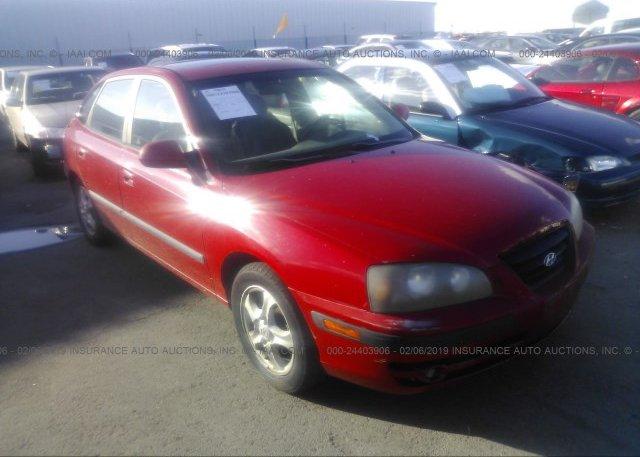 Inventory #535359934 2004 Hyundai ELANTRA