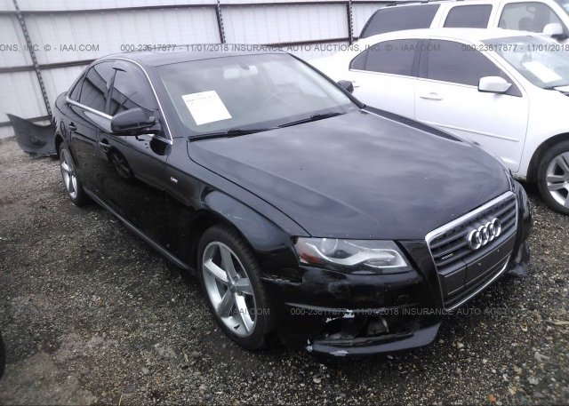 Inventory #872237152 2012 AUDI A4