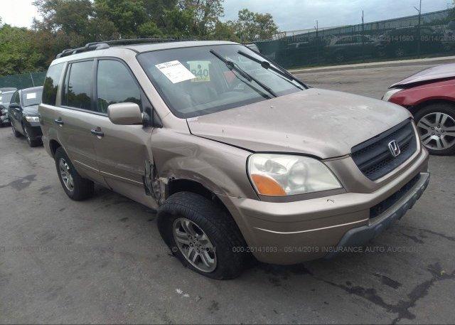 Inventory #605746704 2005 Honda PILOT