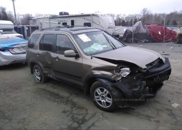 Inventory #691235435 2002 Honda CR-V