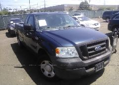 2005 FORD F150 - 1FTRF12225NA64660 Left View