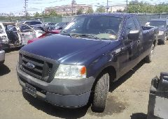 2005 FORD F150 - 1FTRF12225NA64660 Right View