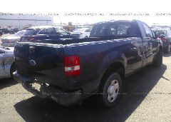 2005 FORD F150 - 1FTRF12225NA64660 rear view