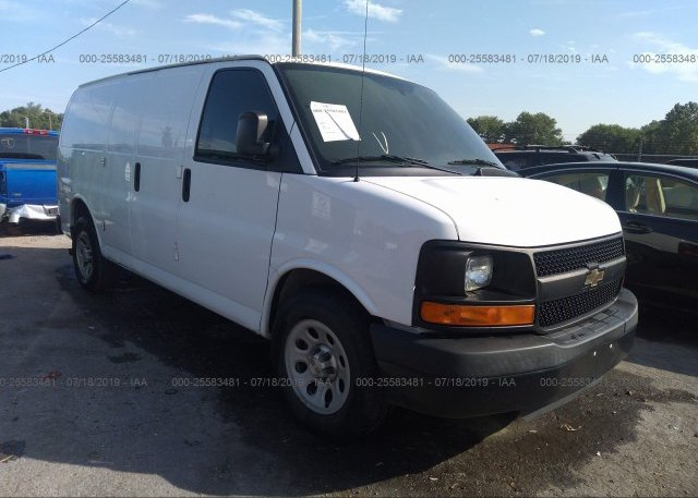 Inventory #614130221 2014 Chevrolet EXPRESS G1500