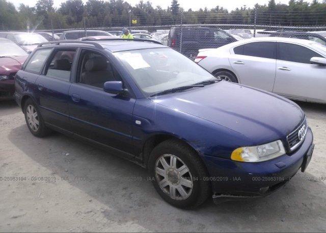 Inventory #259992053 2001 AUDI A4