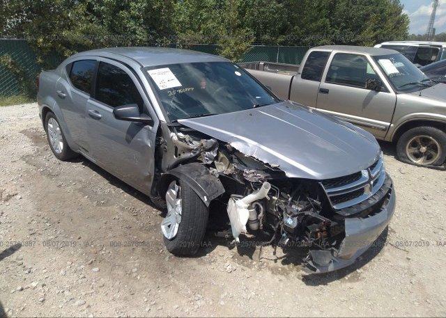 Inventory #790274923 2014 Dodge AVENGER
