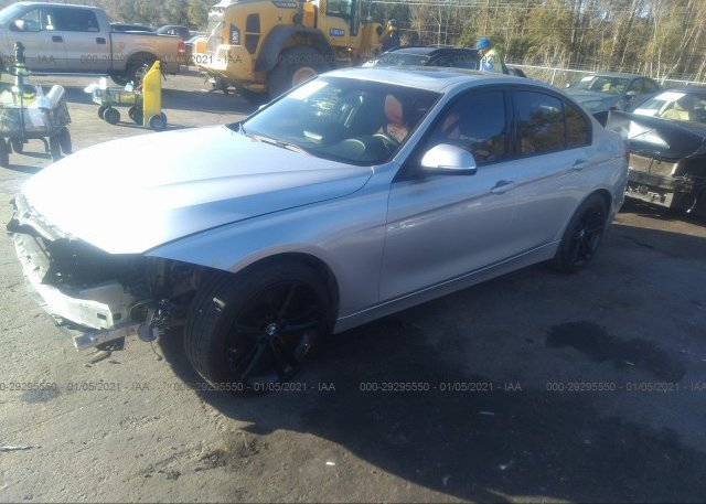 из сша 2014 BMW 3 SERIES WBA3A5G58ENP33400