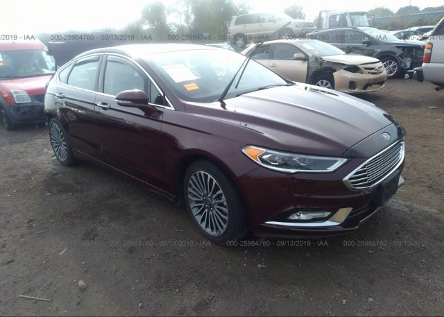Inventory #991127177 2017 FORD FUSION