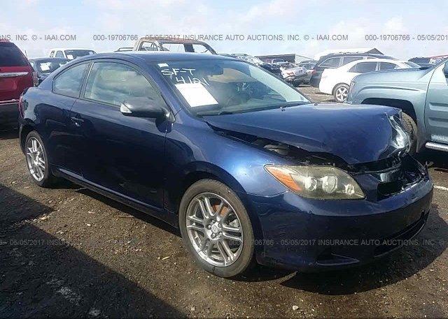 Jtkde167x80239735 Salvage Dark Blue Toyota Scion Tc At Clayton Nc