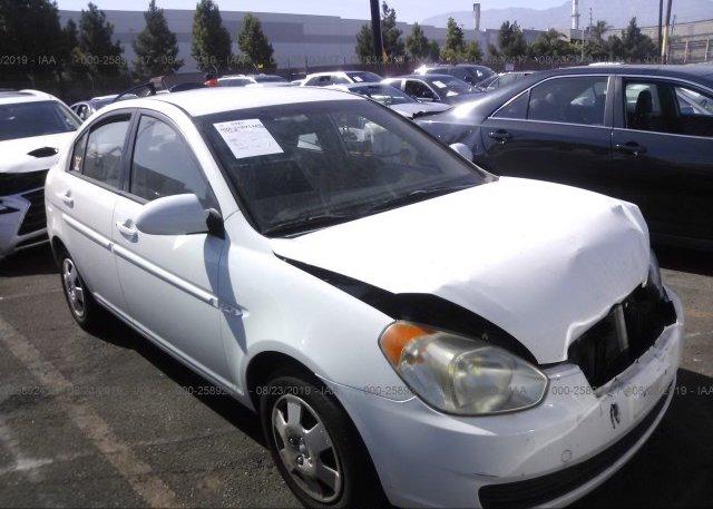Inventory #522752060 2007 Hyundai ACCENT