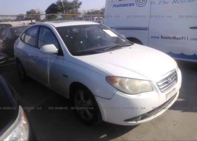 Inventory #726058860 2007 Hyundai ELANTRA