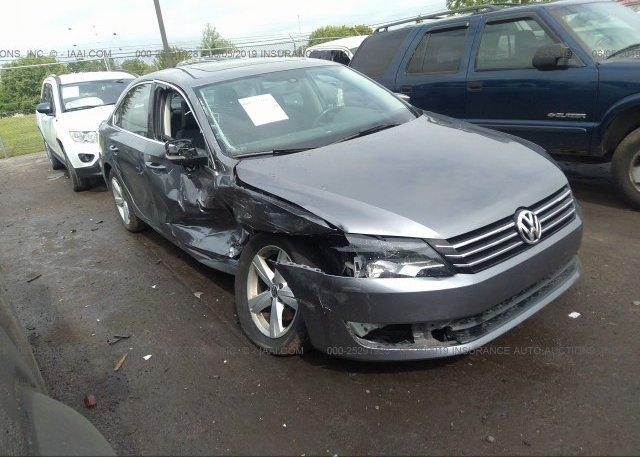 Inventory #535694625 2013 Volkswagen PASSAT