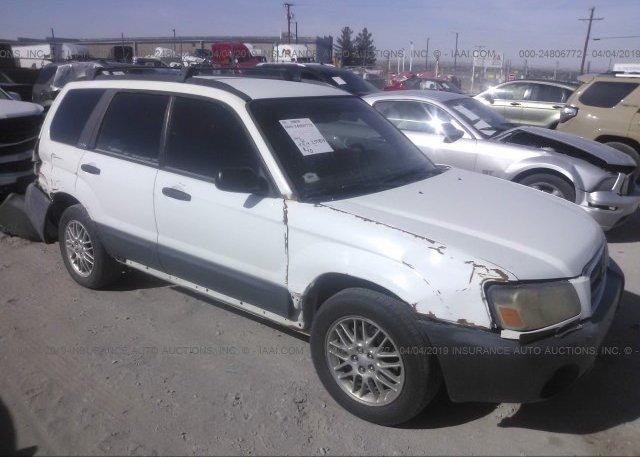 Inventory #522548119 2003 Subaru FORESTER