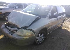 2000 FORD WINDSTAR - 2FMZA5140YBB76362 Right View