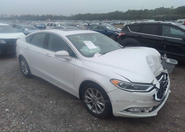 Inventory #244208007 2017 FORD FUSION
