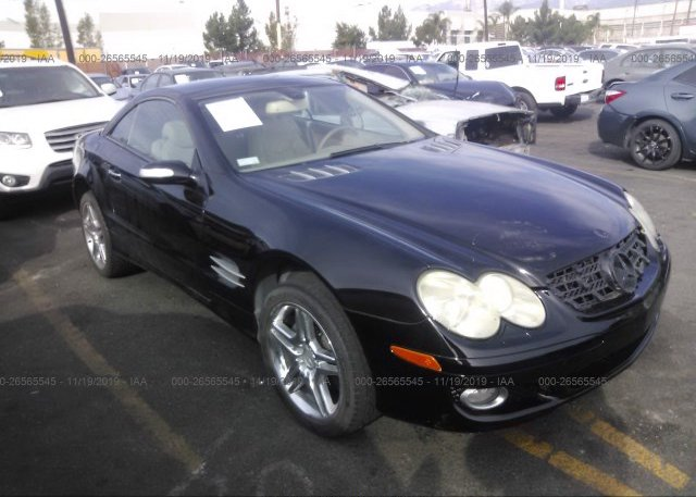 Inventory #768693579 2007 Mercedes-benz SL