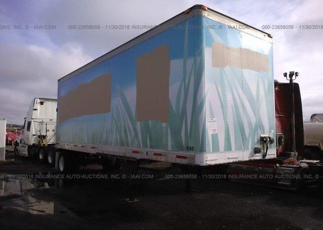 Inventory #418120344 2000 UTILITY TRAILER MFG VAN
