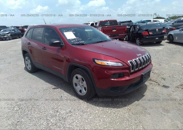 Inventory #233729543 2014 JEEP CHEROKEE