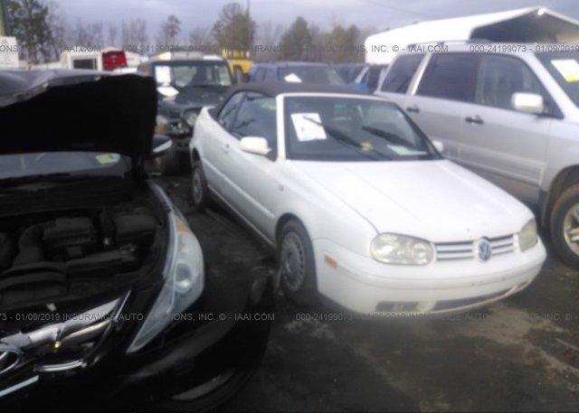 Inventory #769946314 2001 Volkswagen CABRIO