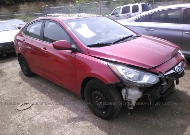 Inventory #731317471 2012 Hyundai ACCENT