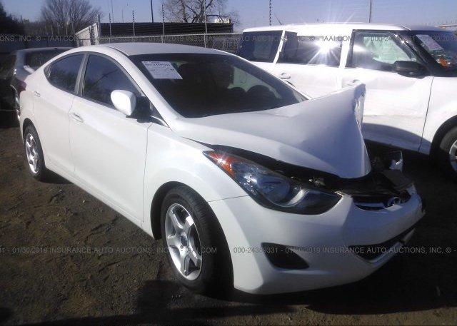 Inventory #277799613 2013 Hyundai ELANTRA