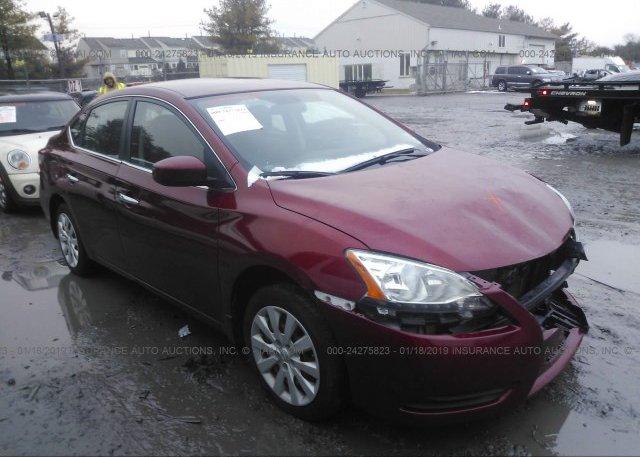 Inventory #929268125 2015 Nissan SENTRA