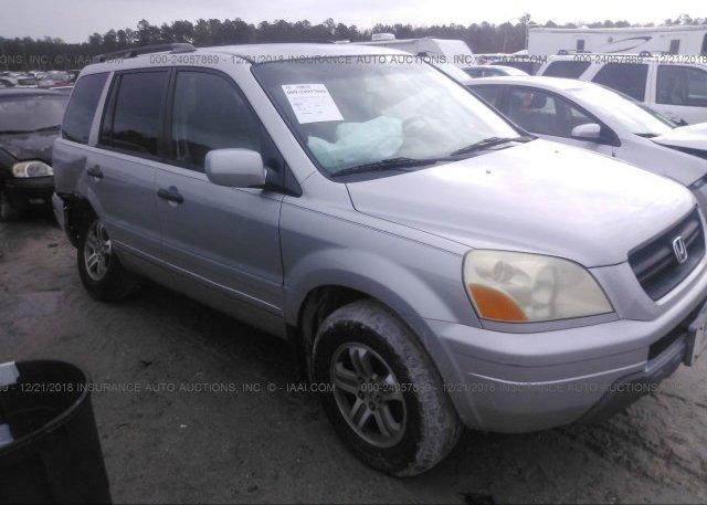 Inventory #402786094 2003 Honda PILOT
