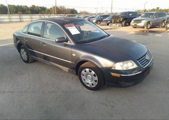 Inventory #480165014 2002 Volkswagen PASSAT