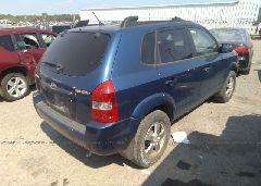 2007 Hyundai TUCSON - KM8JM12B97U556450 rear view