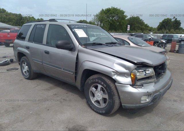 Inventory #172373778 2002 Chevrolet TRAILBLAZER