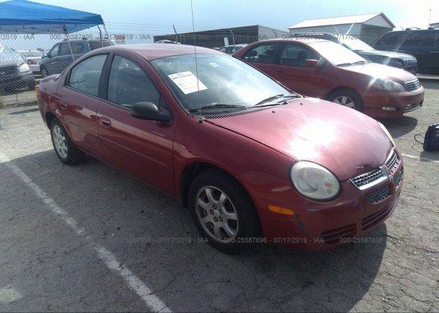 Inventory #102992359 2005 Dodge NEON