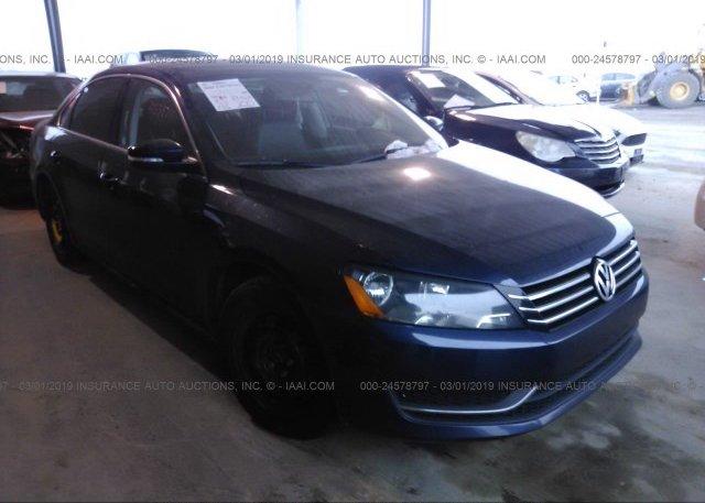 Inventory #930807209 2013 Volkswagen PASSAT